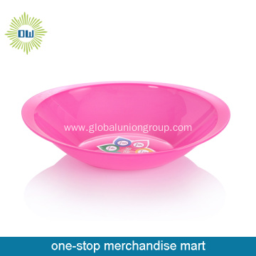 Advertising Fashion Plastic Fruit Plate